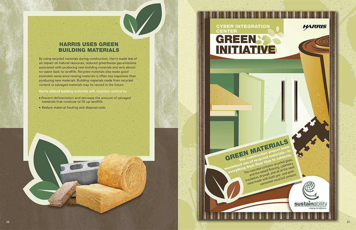 Linda Hanus | Green Initiative Poster and Book Design